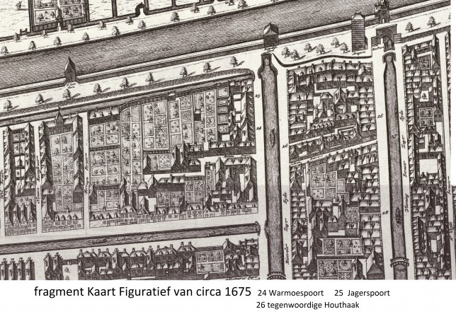 Kaart Figuratief 1675